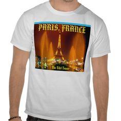 20 % off  Tshirt eifel tower, PARIS, FRANCE - Custo... - Customized Tees  www.zazzle.com/adeogbadamosi@yahoo.com