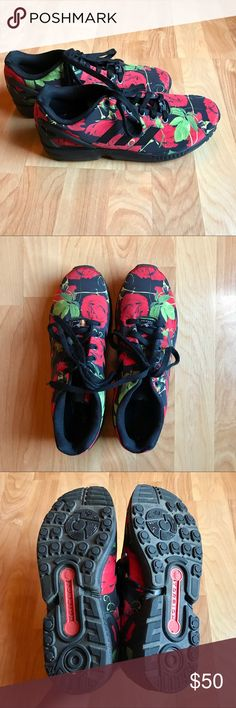 Adidas Torsion ZX Flux 🌹 Practically brand new (only worn a couple times) Adidas Torsion rose sneakers size women's 9.5. They are in beautiful condition and if you have any questions please let me know. Reasonable offers accepted😊❤️ adidas Shoes Sneakers