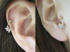 Cartilage Gold Ear Cuff No Piercing Helix Earring Non Pierced Ear Cuff Dainty Ear Cuff Delicate Ear Cuff Single Band Silver Ear Cuff - Custom Jewelry Ideas Tiny Stud Earrings, Moon Earrings, Cartilage Earrings, Simple Earrings, Helix Earrings, Aquamarine Earrings, Crystal Earrings, Crystal Jewelry, Jewelry For Her