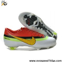 Cheap Nike Mercurial Vapor IX FG CR exclusive personal 5th tyle 2013 New Red White Yellow Nike Mercurial Vapor Superfly Football Boots Store