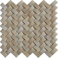Shop Baden Bath Travertine Basketweave Mosaic Tile (Box of 5 sq. feet) - Free Shipping Today - Overstock.com - 4398034