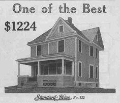 Gordon Van Tine #122 by American Vintage Home, via Flickr Home Photo, Old Houses, Van, Exterior, Explore, American, Life, Vintage, Old Homes