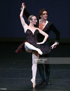 Argentinian dancer Julio Bocca (R) and Eleonora Cassano perform 'Don Quijote' at the Liceu Theatre in Barcelona 04 August 2006. Bocca, 39, will retire in 2007.
