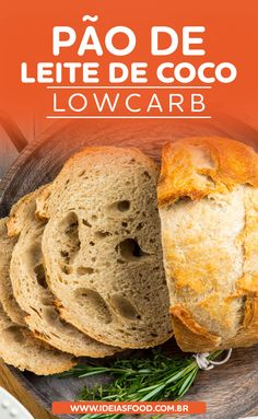 Low Carb Recipes, Diet Recipes, My Recipes, Healthy Recipes, Low Carb Bread, Low Carb Diet, Light Diet, Food And Drink, Bagels