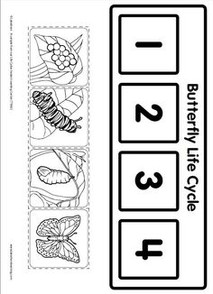 Life Cycle Learning Game from Lakeshore Learning: Children learn all about the life cycle of a butterfly!