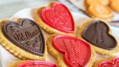 Galletas especiales para San Valentín. Su chocolate las hace irresistibles y su…