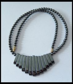 186.5ct Natural Pyrite Gemstone Beads Necklace