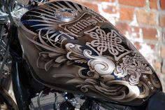 Custom Airbrushed Bike Done by Underground Art Studios in Cedar Rapids Iowa