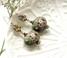 RESERVED for antowkamai.  Jade. Gorgeous handmade di EvaThissen