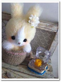 conejita amigurumi pagina japonesa unbearably cute!