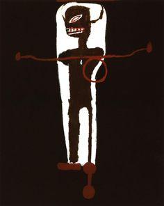 Broken art by Jean-Michel Basquiat. Jean-Michel Basquiat, the most famous and expensive black artist. Jean Michel Basquiat Art, Jm Basquiat, Graffiti Art, Pop Art, Sandro Chia, Basquiat Paintings, Radiant Child, Guggenheim Bilbao, Art Moderne