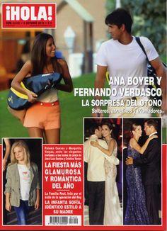 Ana Boyer y Verdasco, en la revista HOLA, cuando iniciaban su amistad y a conocerse