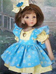 Stars-Dress-Pinafore-Necklace-etc-for-13-Effner-Little-Darling-Dolls