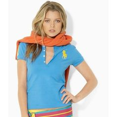 Ralph Lauren Womens Big Pony Polo Short T Shirts Outlet Sale Uk | See more about polo, ralph lauren and outlets.