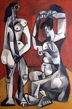 Pablo Picasso (1956) Femmes á la toilette