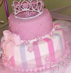 1st birthday cake for girls princess