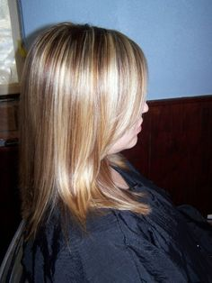 Blonde Highlights w/ Butterscotch lowlights