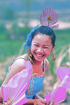 The Dai Nation.  Water throwing festival.  Menghai, Xishuangbanna, Yunnan.  2010. #MinoritiesCulture