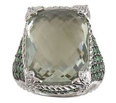 Judith Ripka jewelry; I own and love this ring. Beautiful!!