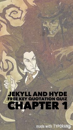 A quiz, with answers, based on key quotations from Chapter 1 of Jekyll and Hyde. Useful for a starter, plenary or revision activity. For more ideas, activities and revision resources for teaching GCSE English please visit my website: www.gcse-english.com.