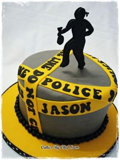 Cops and Robbers Cake