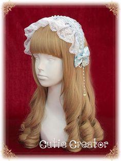 Cutie Creator -Valkyrie Profile -Lace Headbow - My Lolita Dress