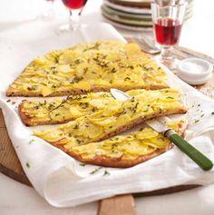 Rustikale Kartoffel-Pizza Rezept - Chefkoch-Rezepte auf LECKER.de | Kochen, Backen und schnelle Gerichte