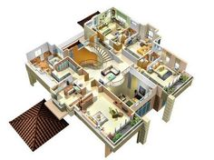3 Bedroom Bungalow House Plans In Kenya House Plans Pinterest Bungalow Bedrooms And House