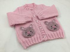 ce6888b62d0e Mint Green baby girls sweater   cardigan. Size  6-9 Months (68-74cm ...