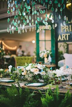 Incredible Woodland Wedding Tablescape-B. Lovely Events 타짜카지노 MD414.COM 타짜카지노