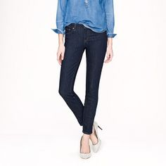 Toothpick jean in classic rinse $115