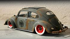 Loan me 50 credits because the AC is on the fritz, brother. Got me a lot of memories in the backseat of this one. I ain't never gonna get rid of these wheels! Vw Cars, Pedal Cars, Vintage Cars, Antique Cars, Vw Rat Rod, Rat Look, Benz, Lamborghini, Vw Volkswagen