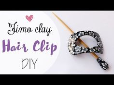 Tuto: Fermaglio capelli in Fimo - ENG SUBS Fimo clay hair clip DIY - YouTube