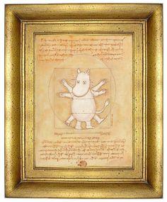 Vitruvian Moomin