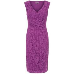 Planet Lace Shift Dress , Mid Pink