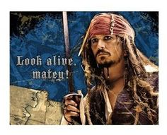 Pirates of the Caribbean 4 - Invitations Party Accessory for only $3.25 You save: $10.65 (77%) + Free Shipping
