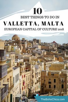 Best things to do in Valletta, Malta: What to see, do and attractions in the Baroque gem that is Valletta, the capital of Malta and the European Culture of Capital 2018 plus tips and recommendations to make the most of your trip. #Valletta #Malta