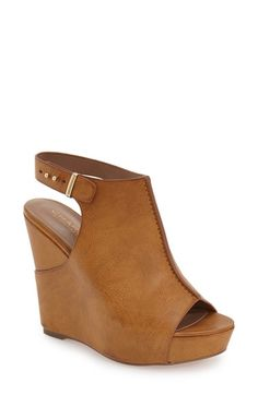 Charles by Charles David 'Ames' Platform Wedge Sandal (Women) available at #Nordstrom