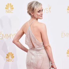 Taylor Schilling Is Backing It Up in Beaded Zuhair Murad