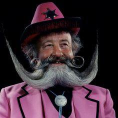 Moustache photography
