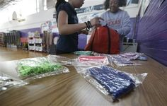 WASHINGTON — When it comes to school fundraisers, bake sale tables loaded with sugary goodies are out. Fun runs, auctions and sales of healthier