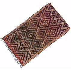 "Image of Vintage Berber Moroccan Rug - 6'7"" x 11'7"""
