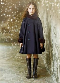 Infant Girl 6 Months - 3 Years | Burberry | Coats, Cashmere coat ...