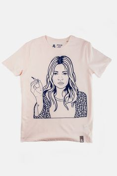 Browse Kate T-Shirt and more from Jill & Gill at Wolf & Badger - the leading destination for independent designer fashion, jewellery and homewares. Swing Tags, Neck Collar, Boss Lady, Blush Pink, Screen Printing, T Shirts For Women, Unisex, Mens Tops, Spun Cotton
