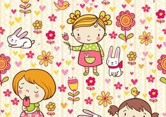 100  Cute Seamless Baby Background Patterns