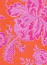 pink and orange flowers.
