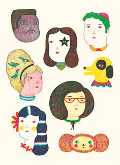 https://flic.kr/p/a4pHUV   heads_detail   Some of the heads I drew for our BIOGRAFIKTION poster: www.flickr.com/photos/iloveyourbikini/5514443209/in/photo...  available here: www.biografiktion.com