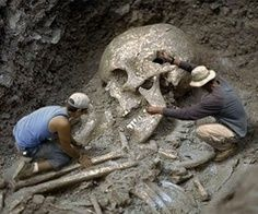 A nine foot ancient human skeleton was unearthed in Montana. Are these the Giants that have been spoken of in world-known religions?