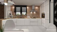 kitchen interior design ~ rustic style ~ house near Krakow Modern Kitchen Design, Interior Design Kitchen, Interior Decorating, Grey Kitchens, Home Kitchens, Rustic Design, Rustic Style, Kitchen Layout, Kitchen Decor