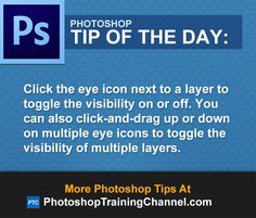 Click the eye icon next to a layer to toggle the visibility on or off. You can…